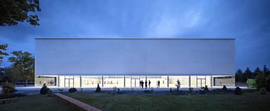 Inauguración del nuevo Pabellón y Aulario de la Universidad Francisco de Vitoria en Pozuelo, Madrid.