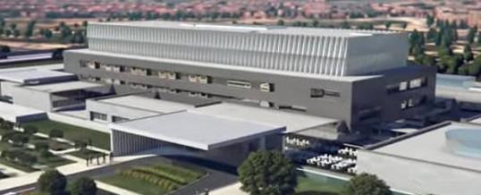 09/06/2017. Fase final de instalaciones de climatización de la nueva Clínica Universitaria de Navarra en Madrid.