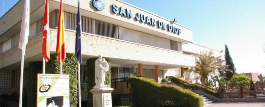 04/09/2017. Adjudicación de las instalaciones del nuevo edificio de psicogeriatría del Hospital San Juan de Dios en Ciempozuelos.